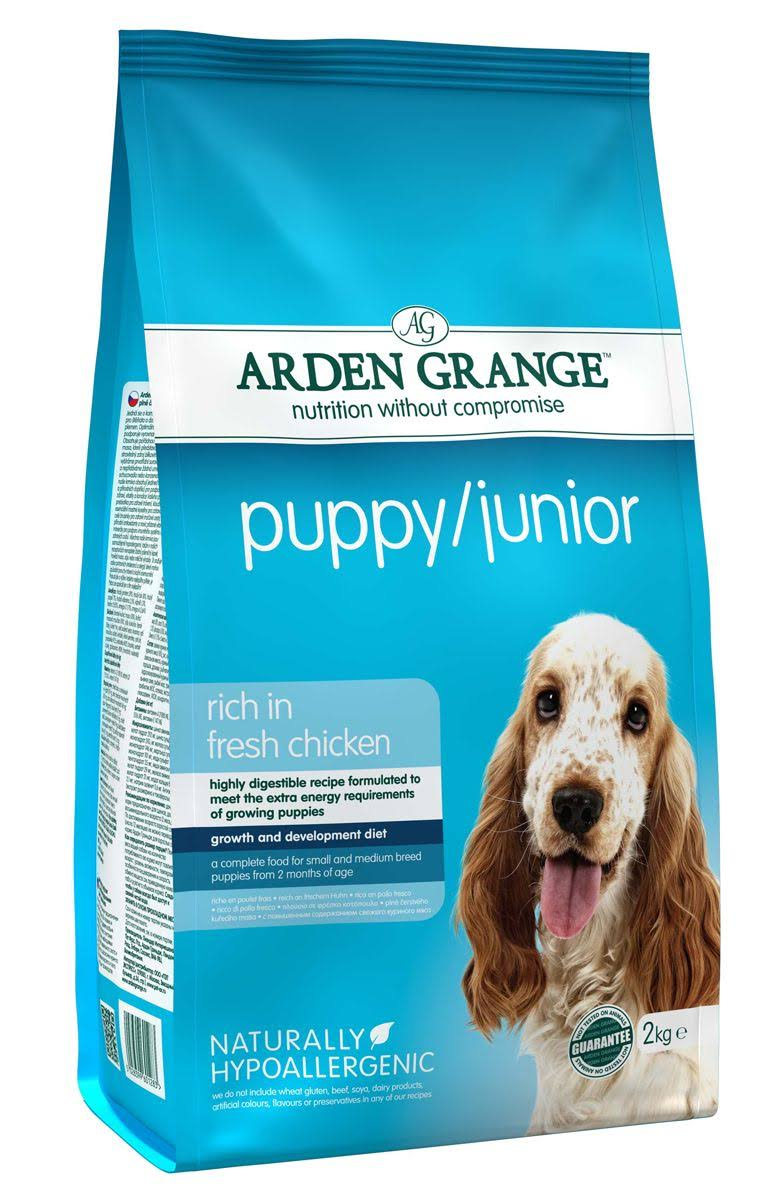 Arden Grange Puppy and Junior Dog Food - Chicken, 2kg