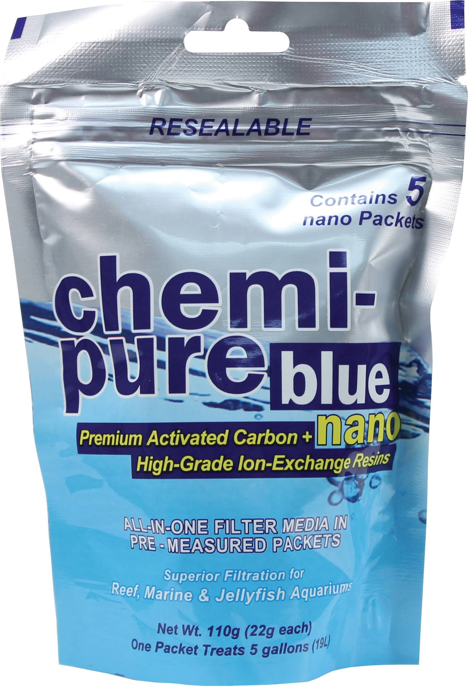 Boyd Chemi Pure Blue Nano Aquarium Filter Media - 5 Pack