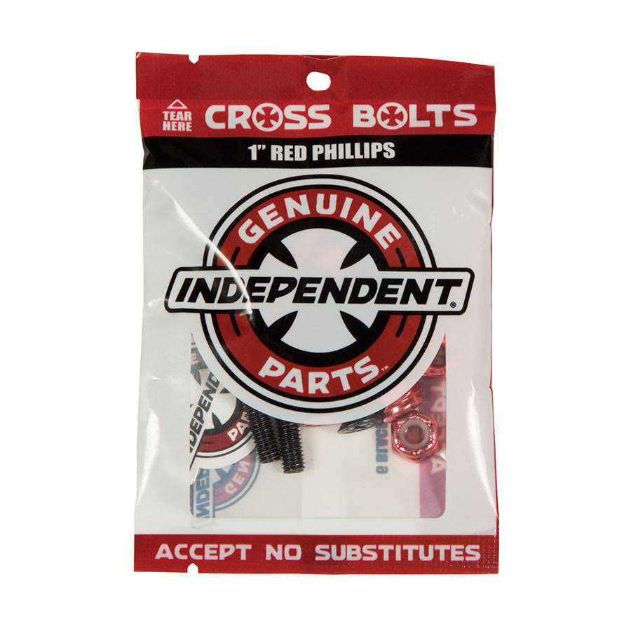 Independent Phillips Bolts (Red)