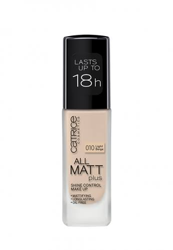 Catrice All Matt Plus Shine Control Make Up - 027 Amber Beige, 30ml