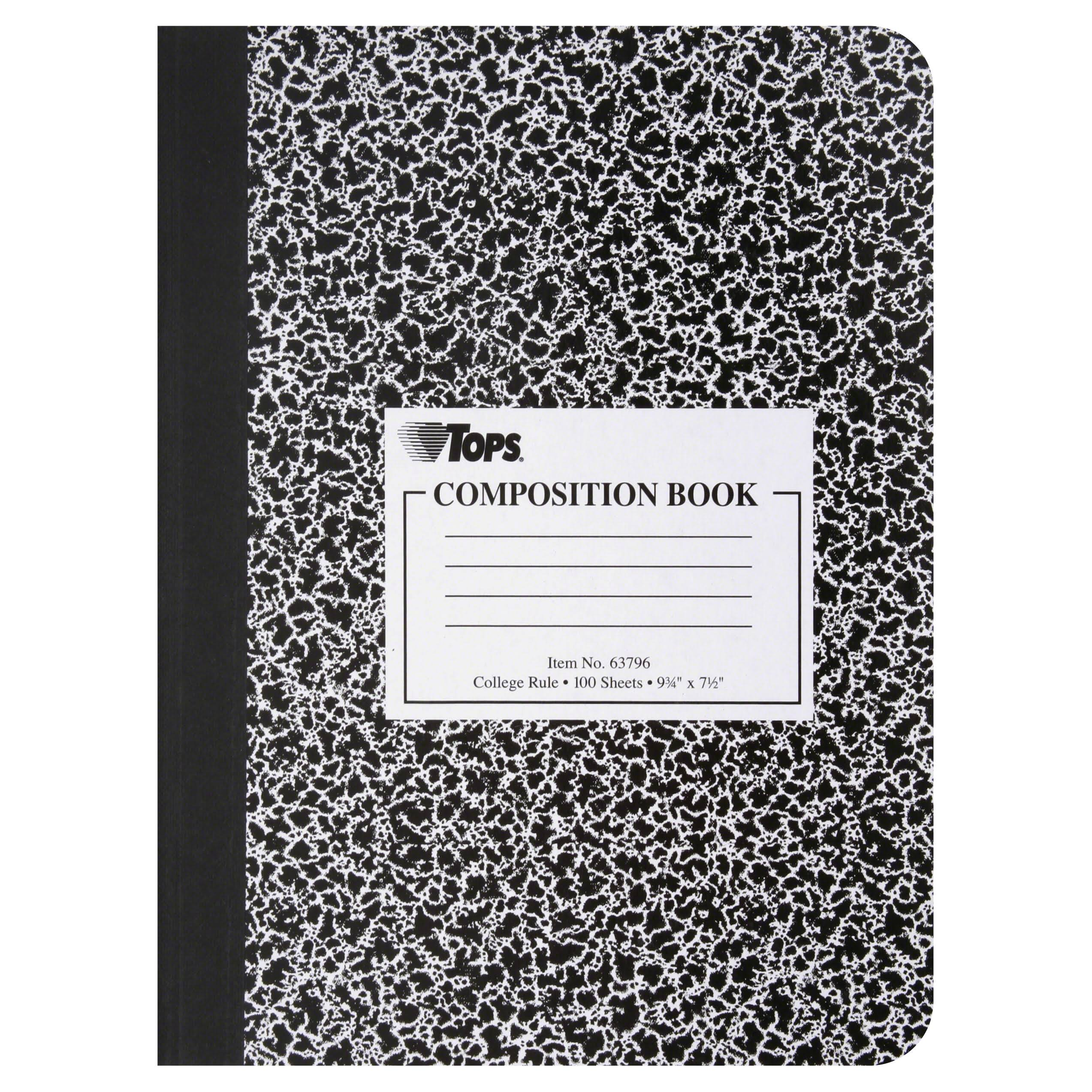 Tops Composition Book, College Rule
