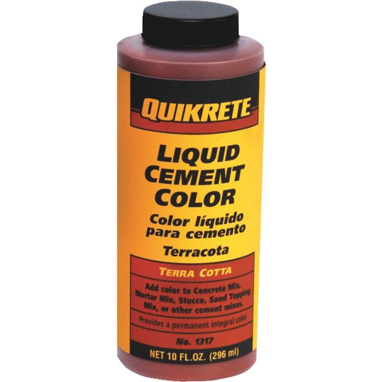Quikrete 1317-04 Liquid Cement Color - Terra Cotta, 10oz