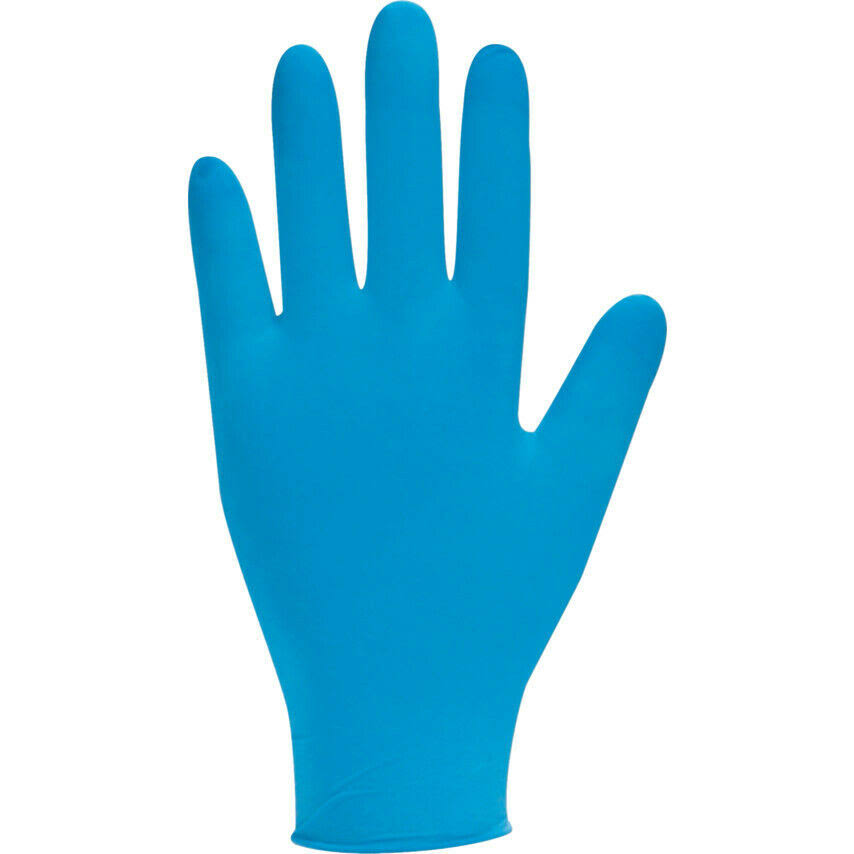 Bodyguard Nitrile Blue Powder Free Disposable Gloves