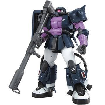 Bandai Gundam Master Grade MS-06R-1A Zaku II Model Kit - Scale 1:100