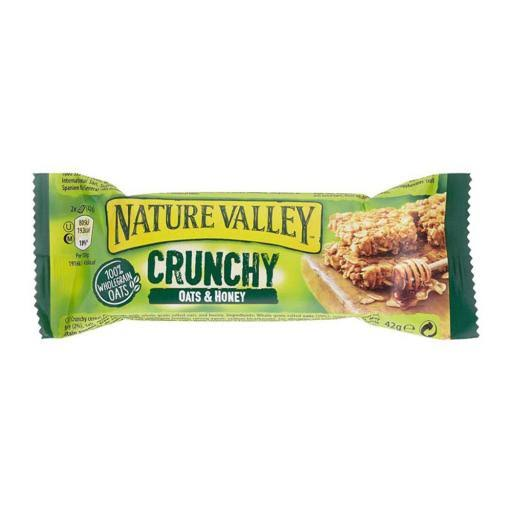Nature Valley Crunchy Cereal Bars - Oats and Honey, 42g