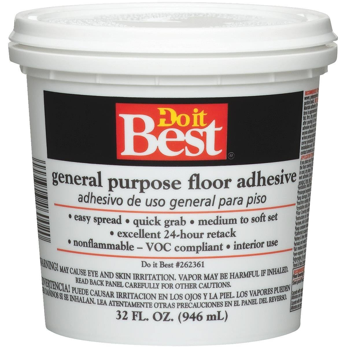 Do it Best General Purpose Floor Adhesive - 32oz