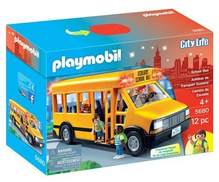 Playmobil 5680 City Life School Bus