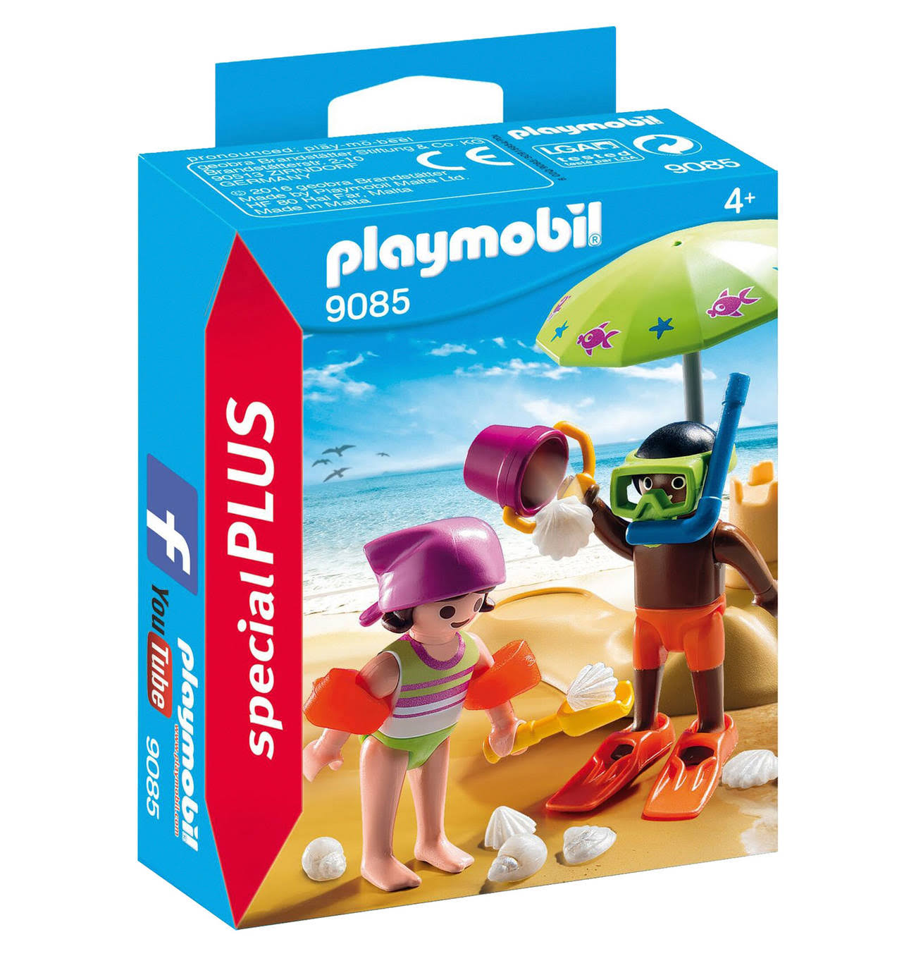 Playmobil Children At The Beach Playset - 9085