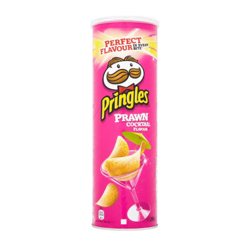 Pringles Prawn Cocktail Flavour Crispy Chips - 200g