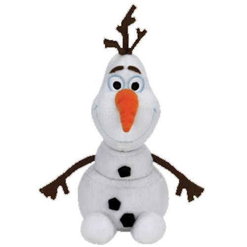TY Olaf Snowman Beanie Stuffed Animal
