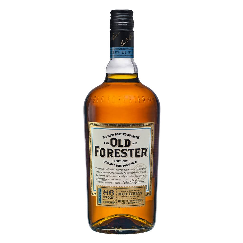 Old Forester Kentucky Straight Bourbon Whisky - 1L