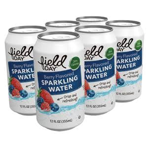 Field Day Berry Sparkling Water