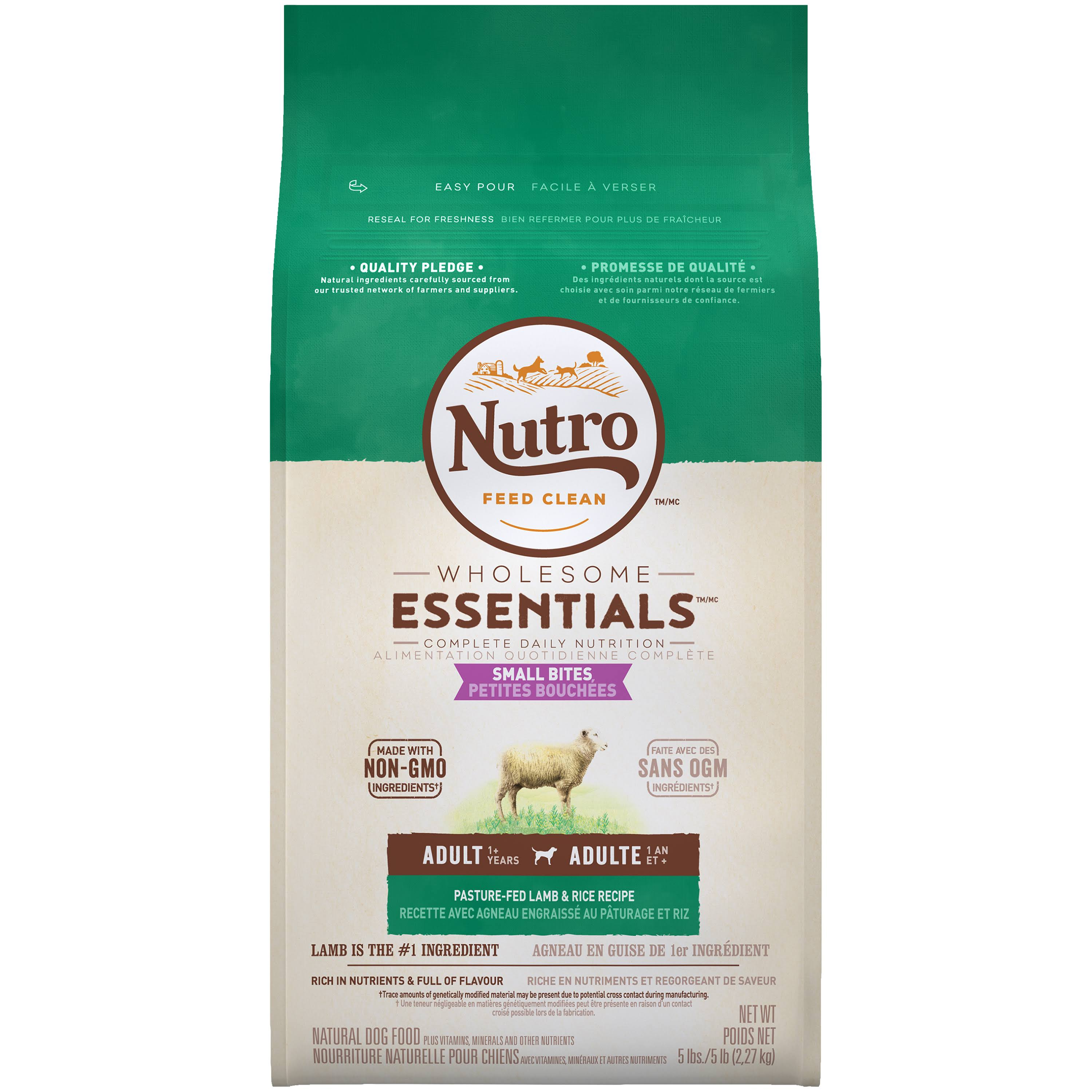 The Nutro Company Small Bites Dog Food - Lamb