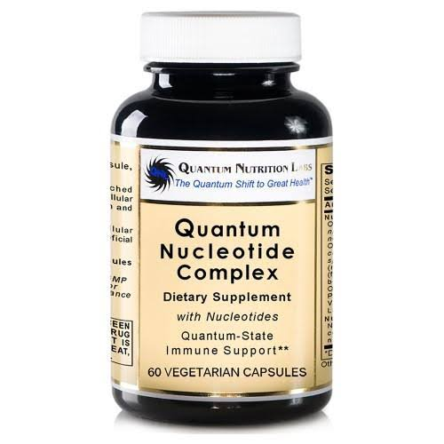 Quantum Nutrition Labs Quantum-rx Nucleotides Supplement - 60 Vegetarian Capsules