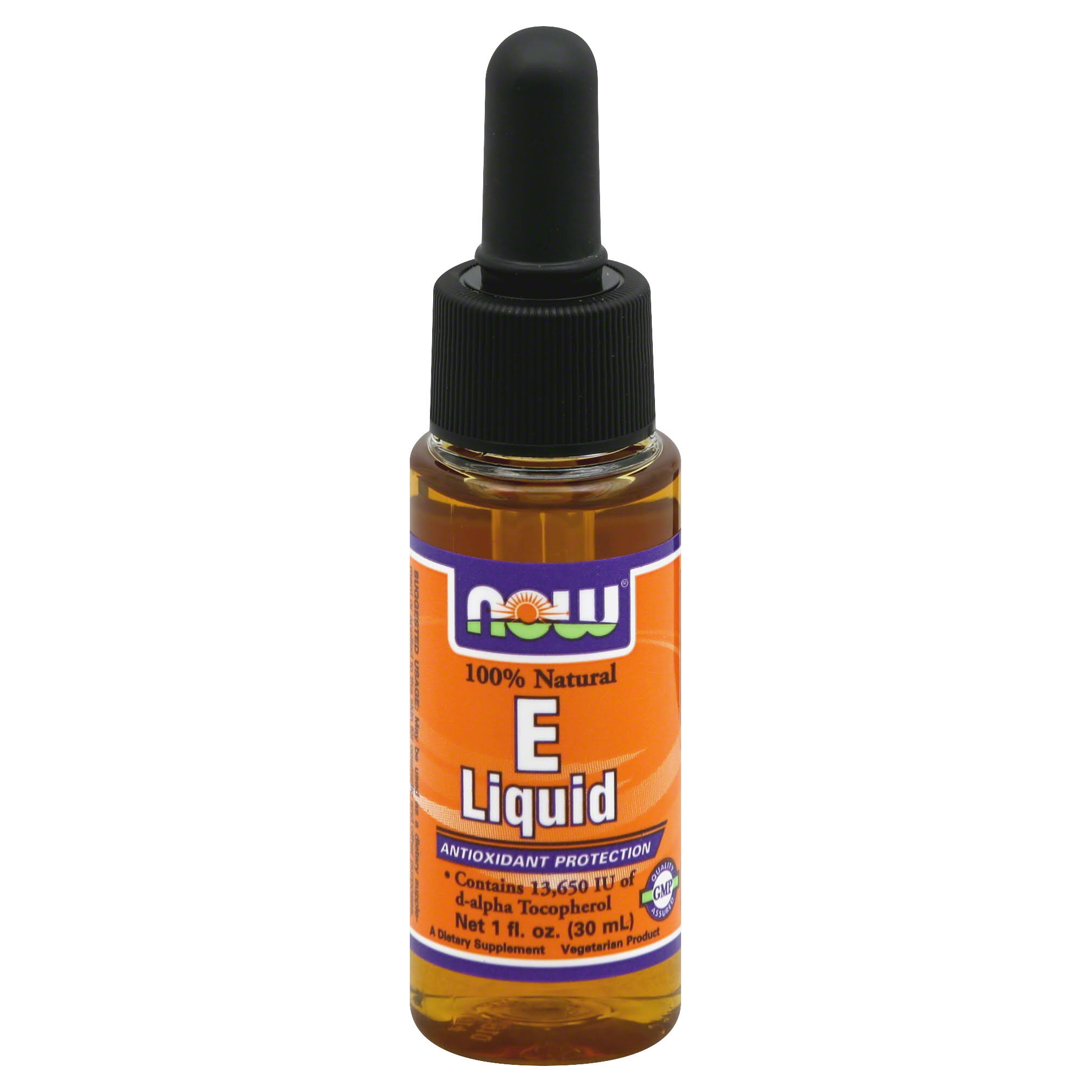 Now Vitamin E Liquid - 30ml