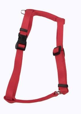 Coastal Pet Products DCP6943RED Nylon Standard Adjustable Dog Harness - Red, Large