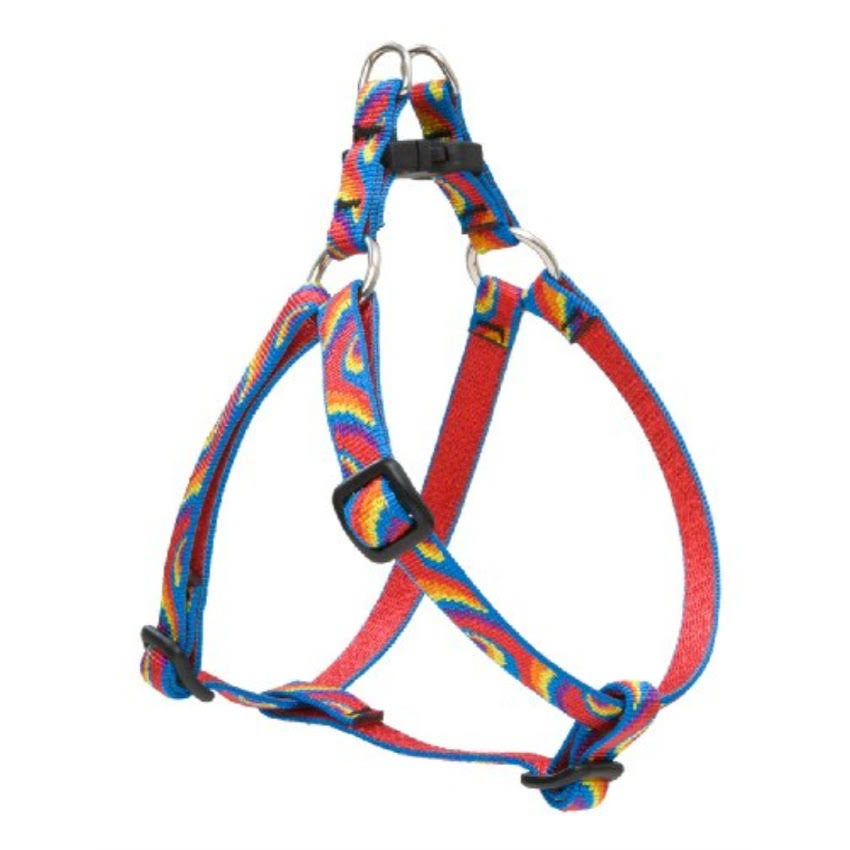 "LupinePet Originals Lollipop Step-In Dog Harness - for Small Dogs, 12-18"" x 1/2"""