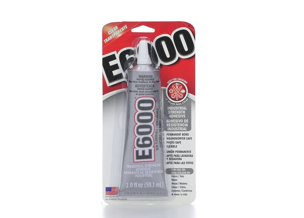 E-6000 Craft Adhesive - Clear, 2oz