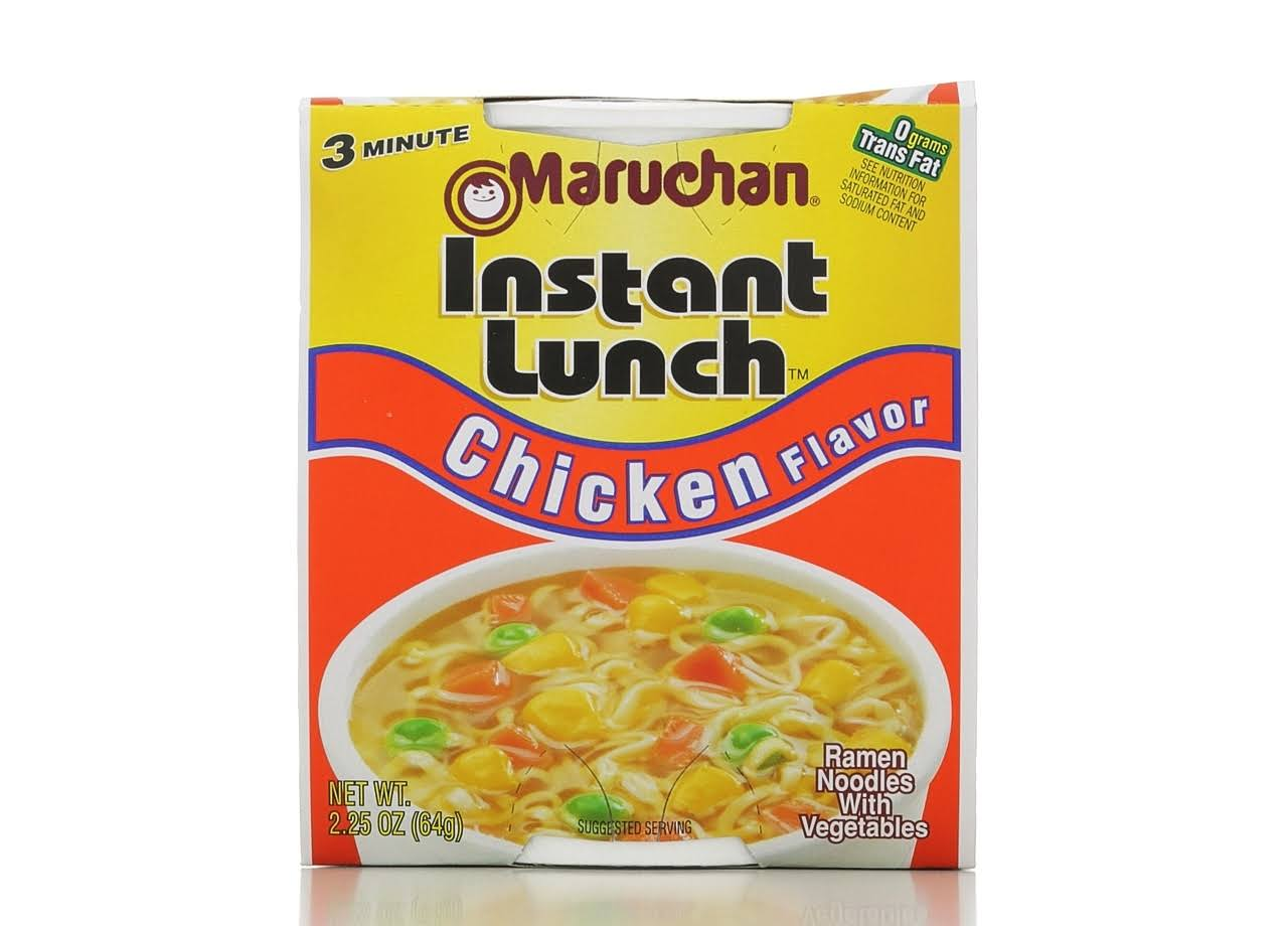 Maruchan Instant Lunch Ramen Noodle Soup - Chicken Flavor, 2.25oz