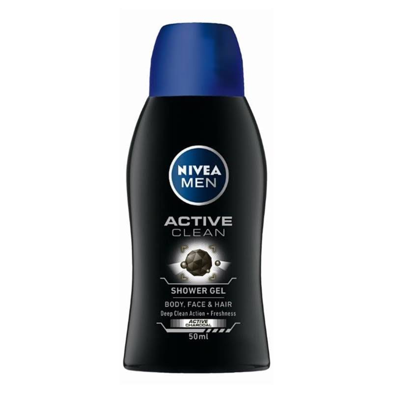 Nivea Men Active Clean Shower Gel - 50ml