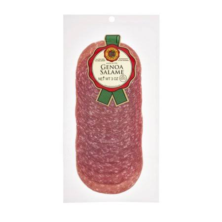 Daniele Sliced Genoa Salame - 12ct