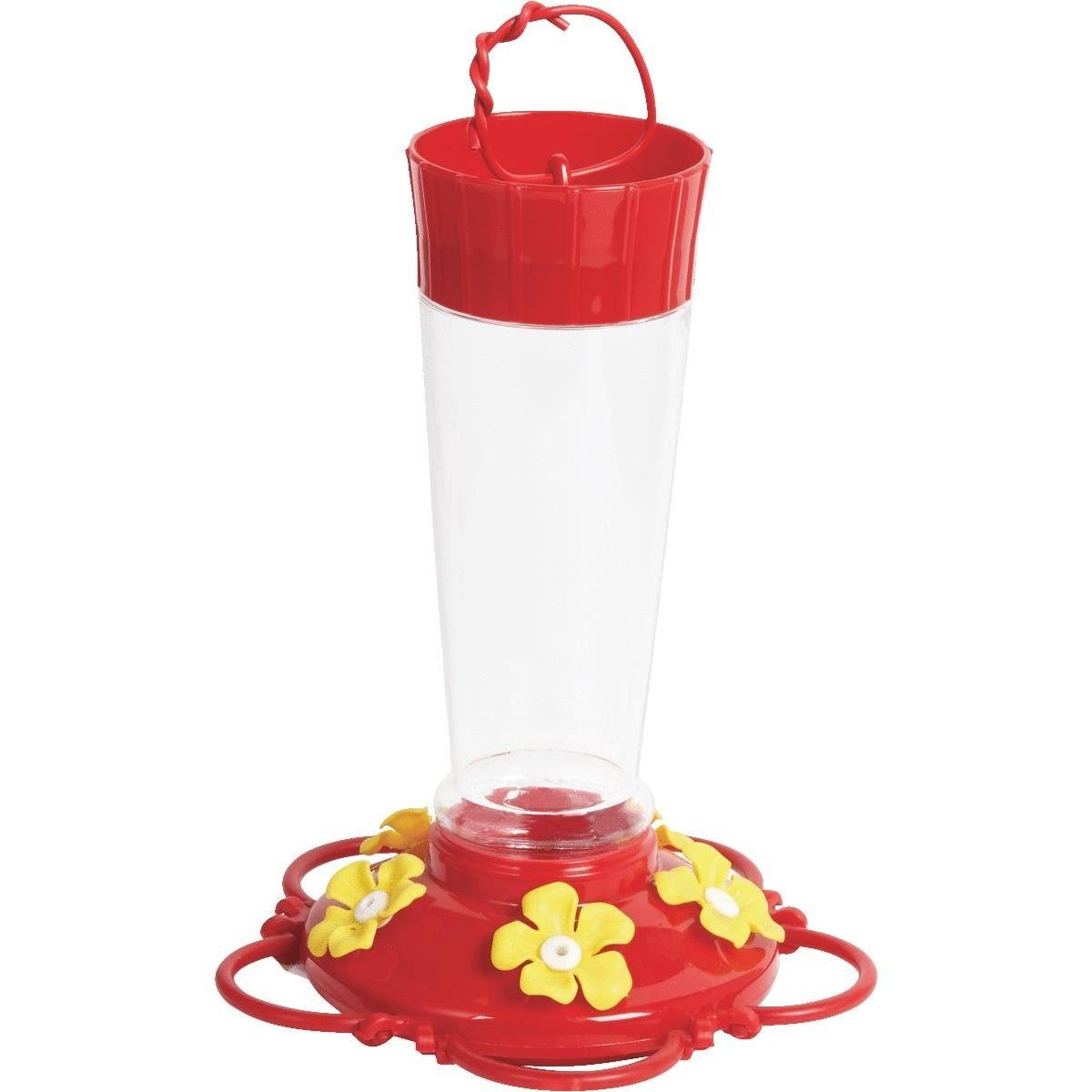 Best Garden Plastic Hummingbird Feeder - 10oz
