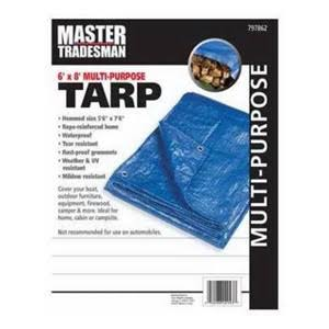 Master Tradesman Multi-Purpose Tarp - 6 x 8 ft