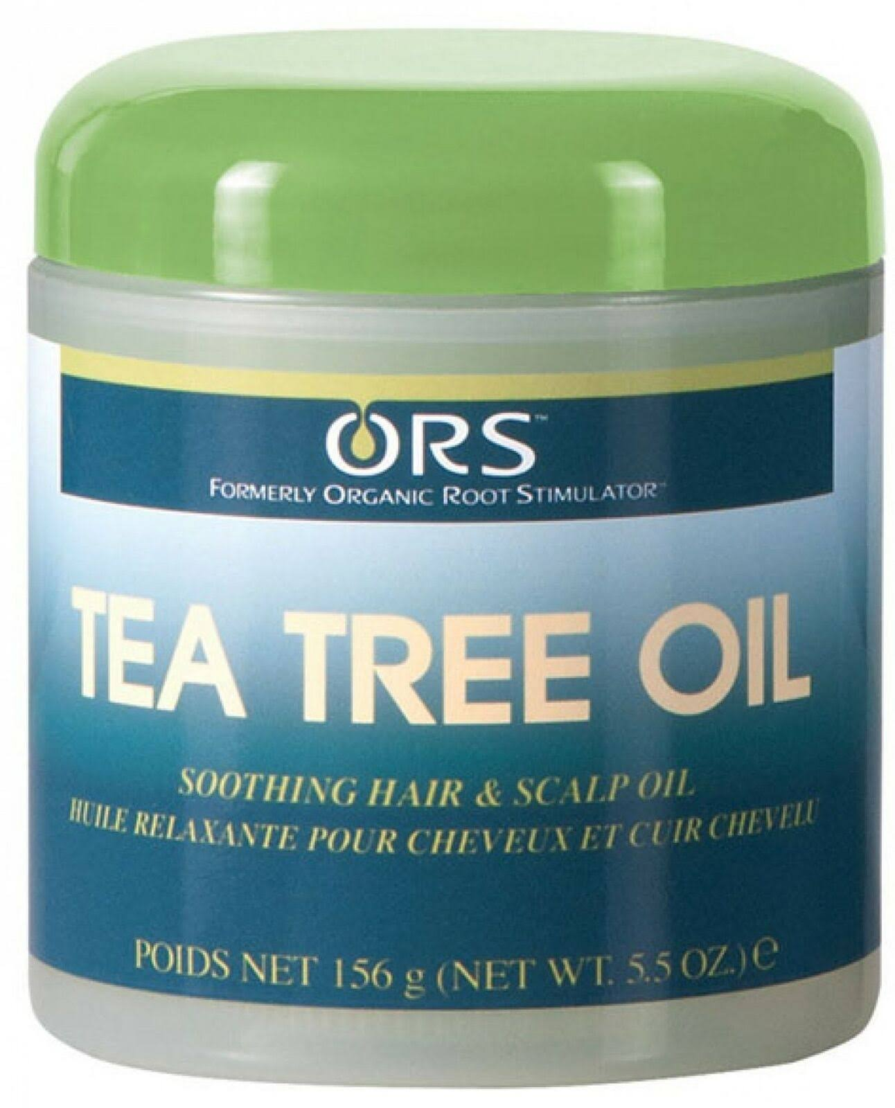 Organic Root Stimulator Tea Tree Hair and Scalp Oil - 5.5 Oz
