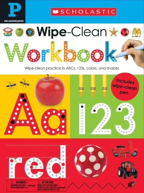 Wipe Clean Workbooks - Scholastic