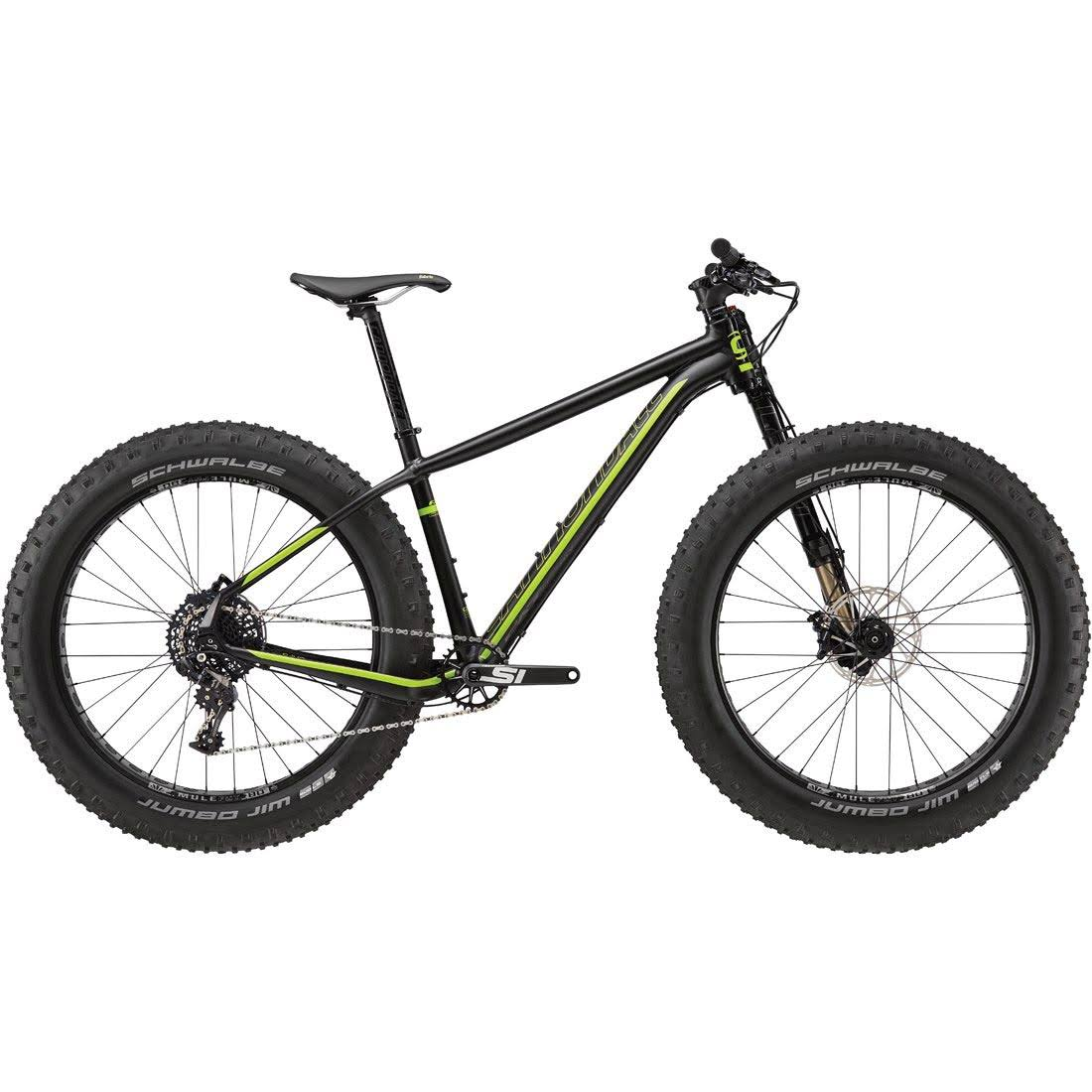 Cannondale Fat CAAD 1 Mountain Bike - Black and Green