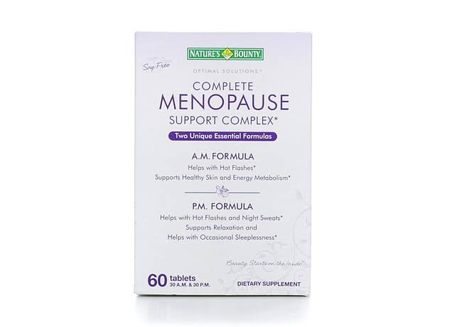 Nature's Bounty Menopause Support Complex