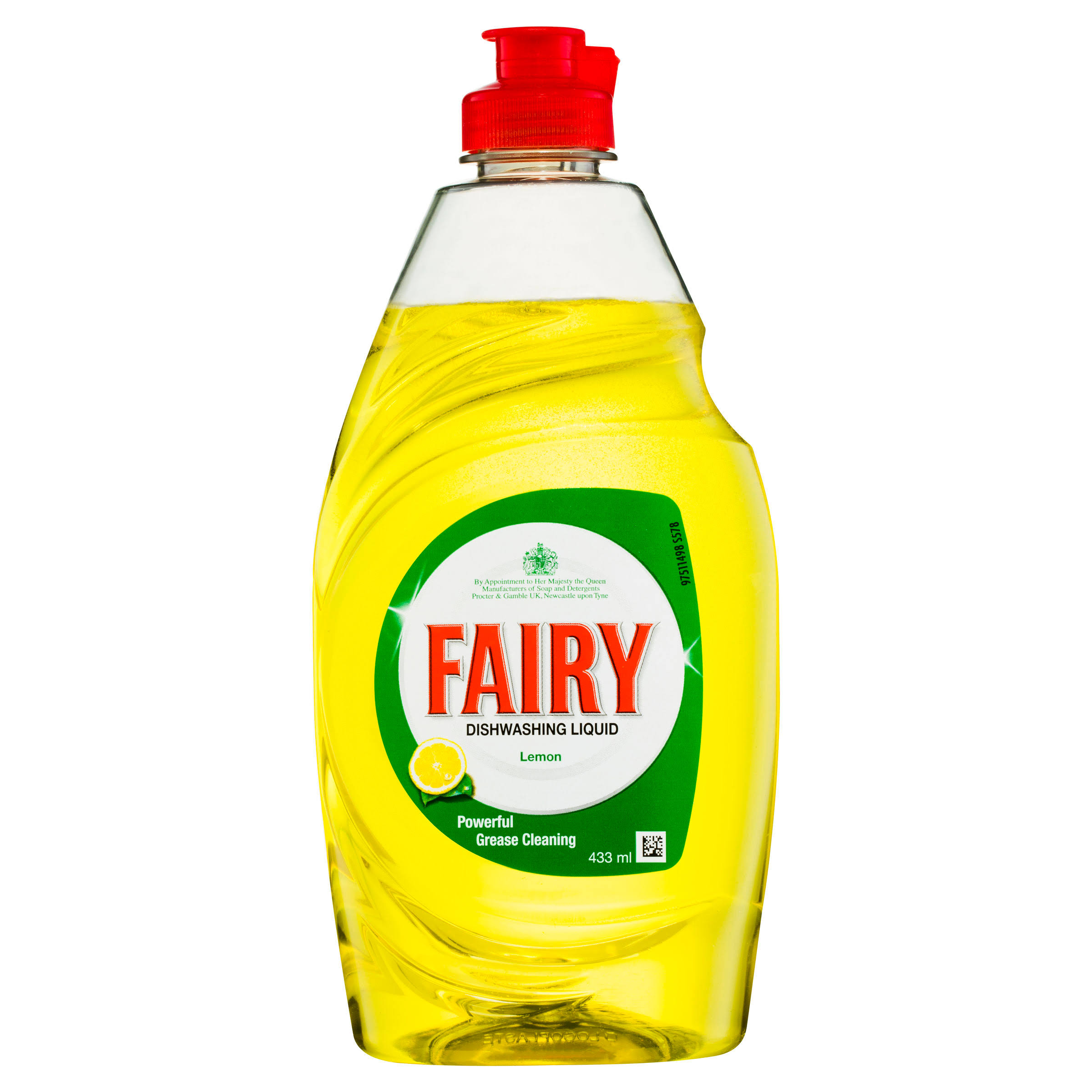 Fairy Original Washing Up Liquid - Lemon, 433ml