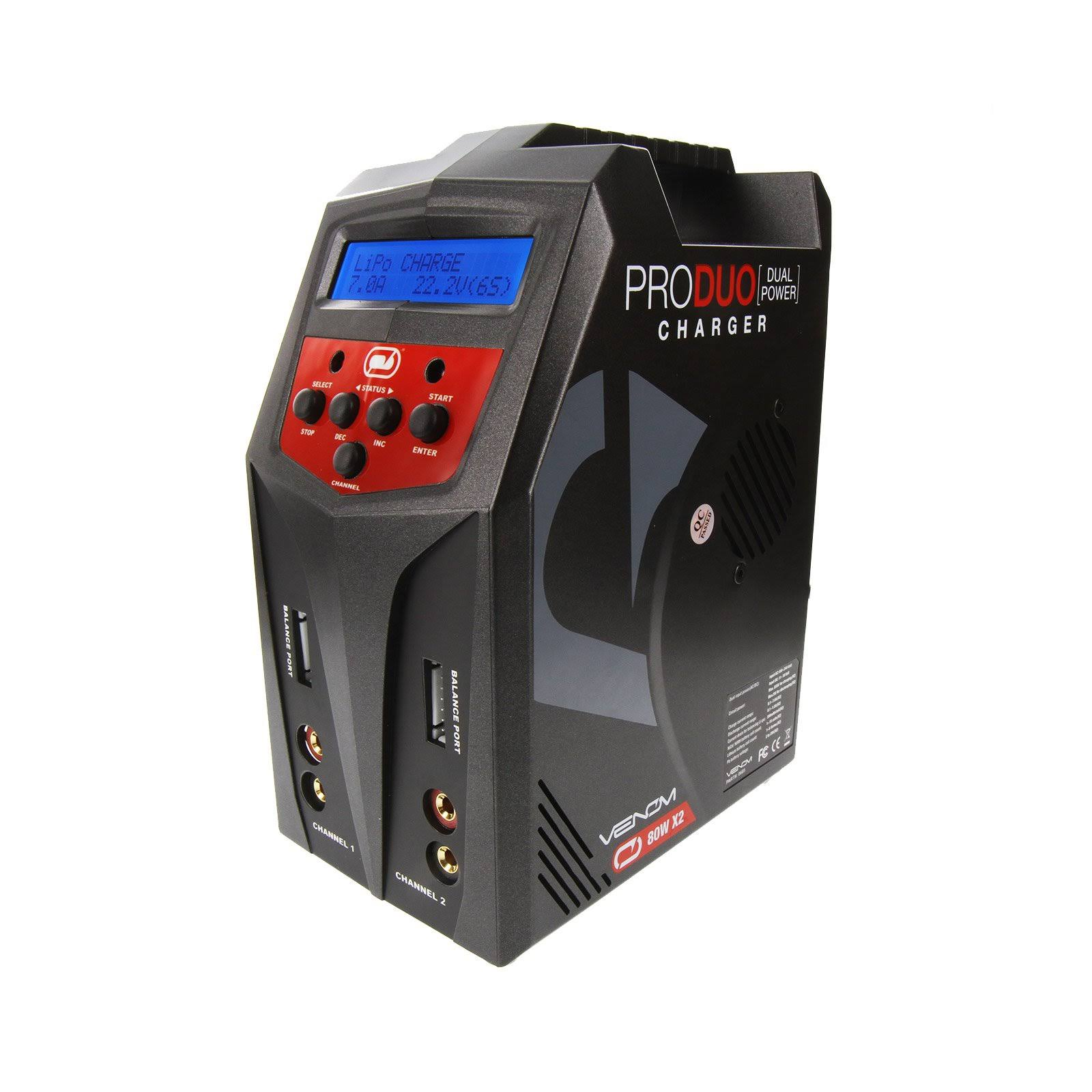 Venom Pro Duo Ac Dc Lipo Ni Mh Battery Charger - 160W
