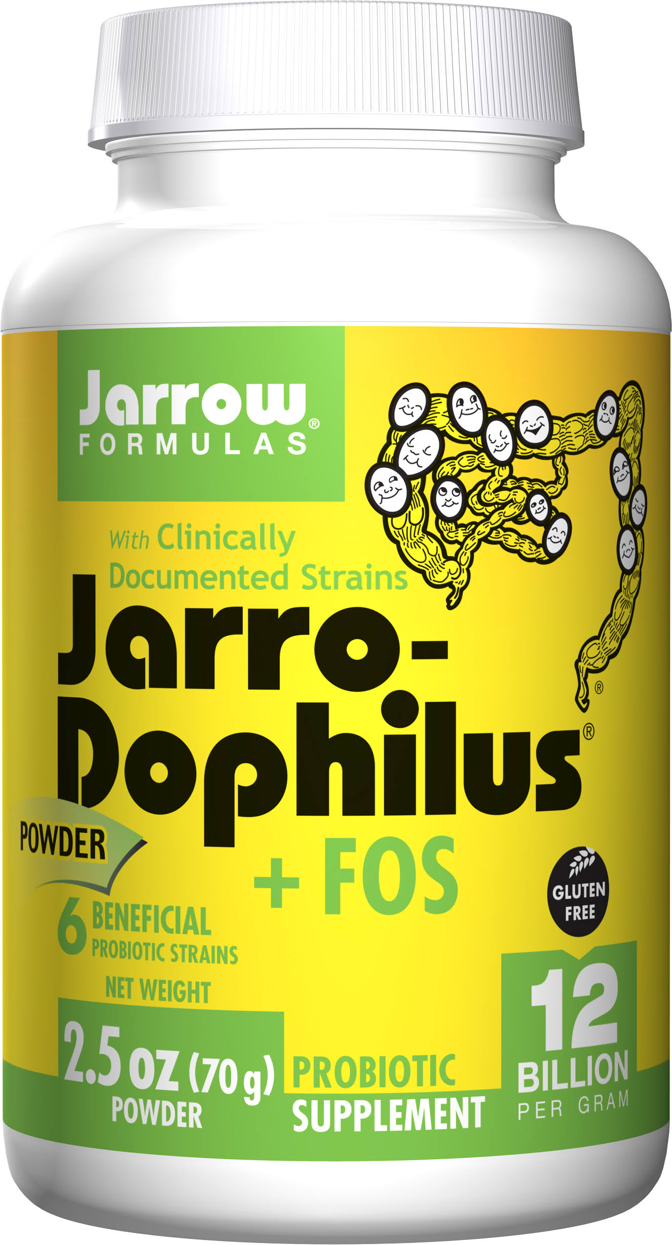 Jarrow Formulas Jarro-Dophilus Powder Probiotic Supplement - 70g