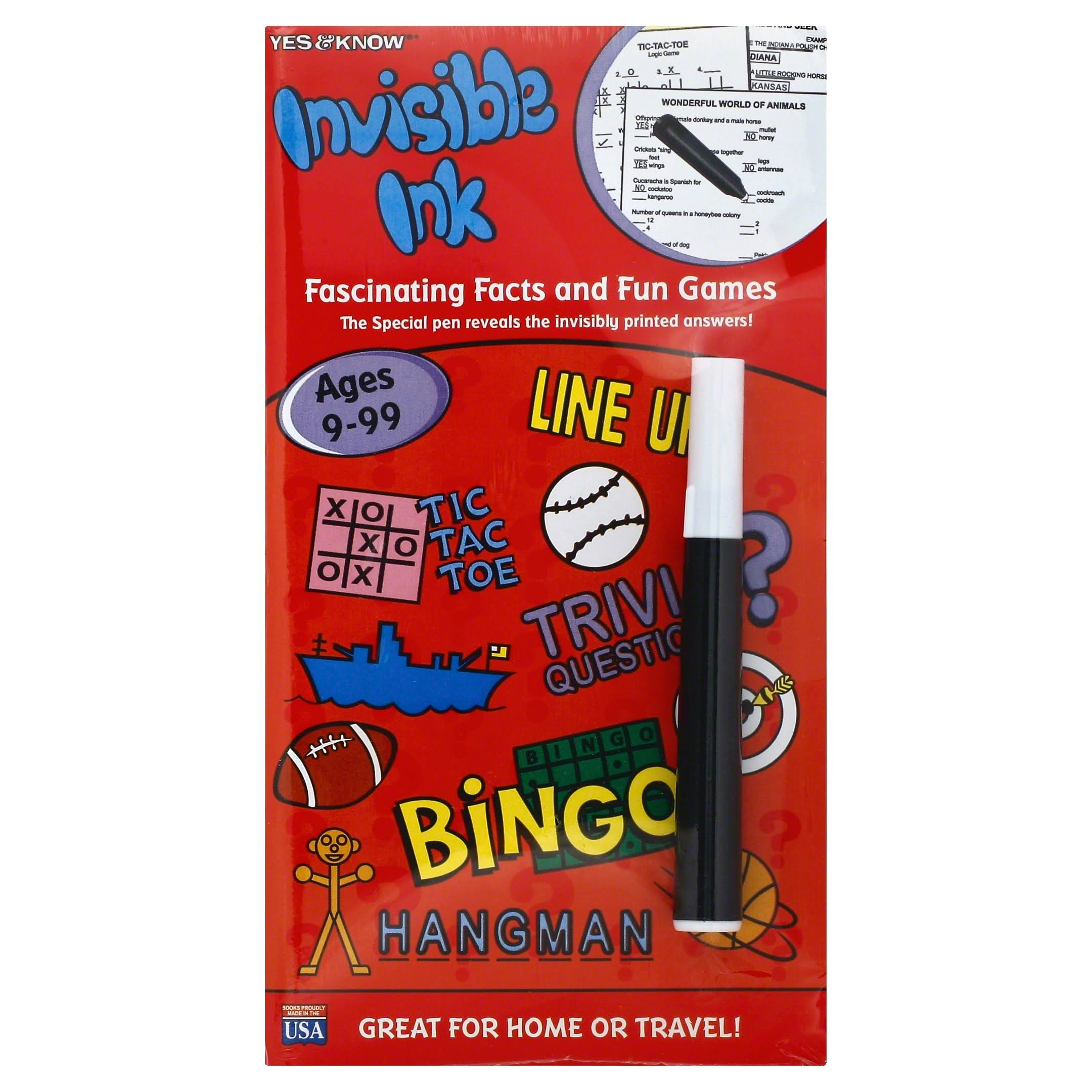 Lee Publication Invisible Ink Games