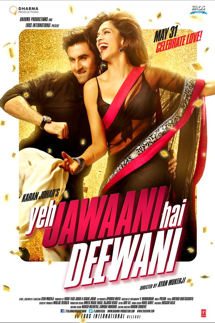 Yeh Jawaani Hai Deewani 2013 Hindi Movie Free Download 720p BluRay