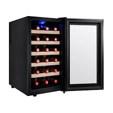 Free Standing Kitchen Cabinets Amazon by Amazon Com Firebird 18 Bottles Thermoelectric Adjustable Control