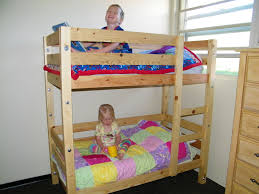 Wood Bunk Beds Plans by Toddler Bunk Beds Do It Yourself Home Projects From Ana White