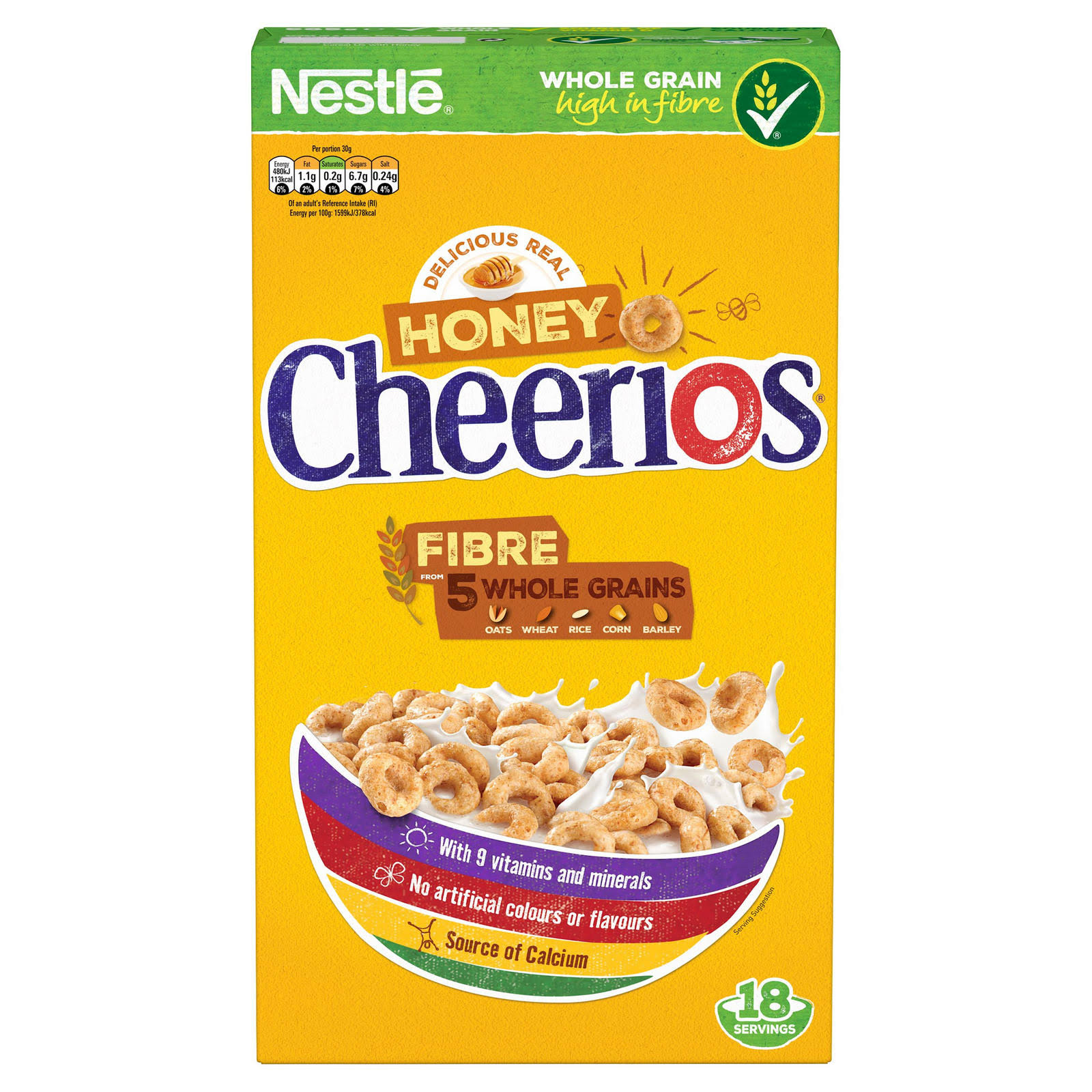 Nestle Honey Cheerios Cereal - 565g