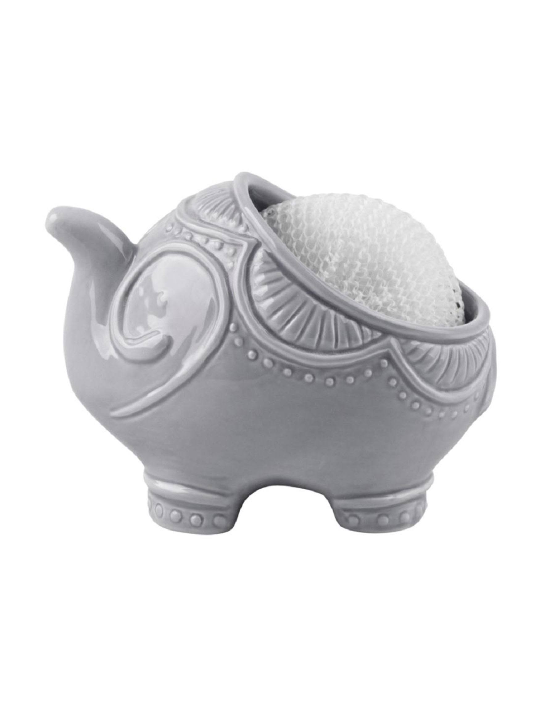 Home Essentials 2-pc. Elephant Scrubbie Set - at Stage Stores
