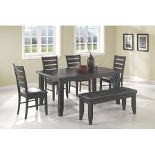 Dining Room Tables Walmart by Dining Table With Benches Tables Neat Dining Room Table