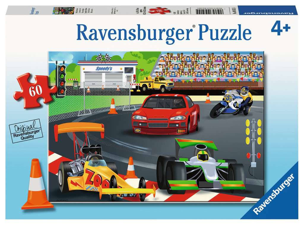 Day at The Races Puzzle (60 Pieces) by Ravensburger 9515