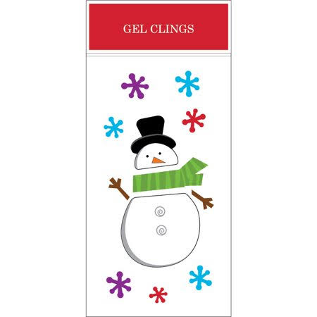 "Impact Innovation 13525d Christmas Gel Cling - 5.5"" x 12"""