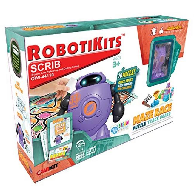 OWI Scrib - Puzzle, Line Following, & Coding Robot