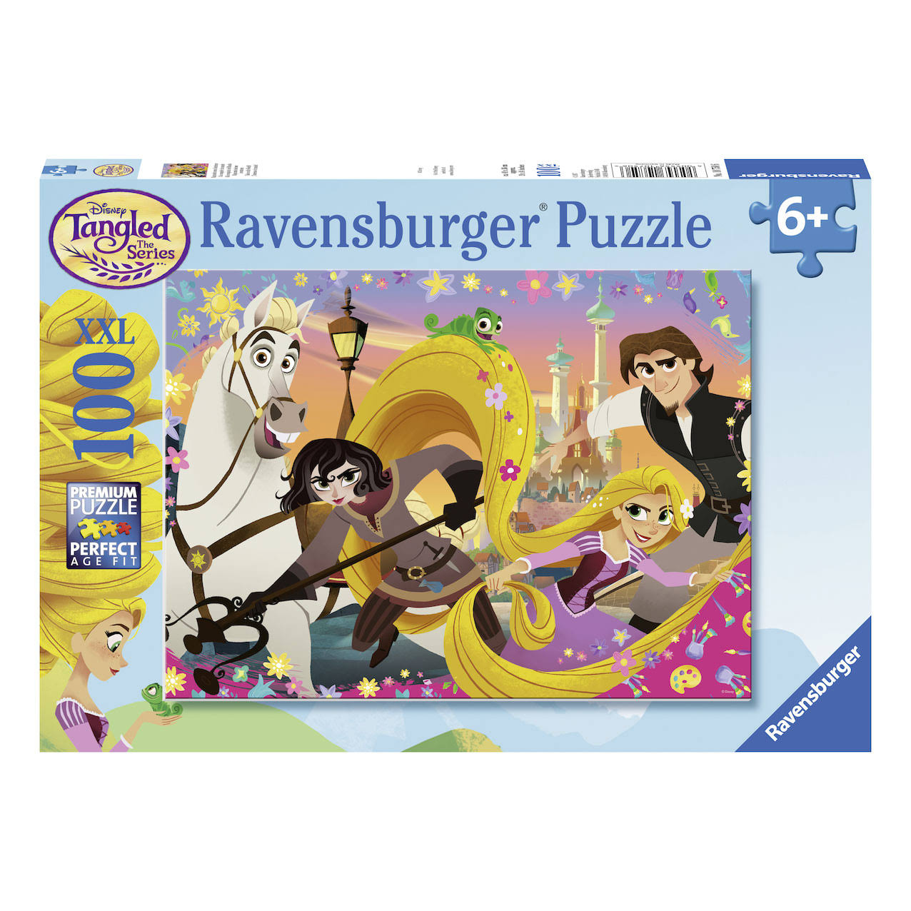 Ravensburger Disney Tangled The Series Take on the World Jigsaw Puzzle - 100pcs