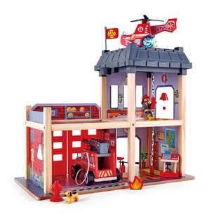 Hape Toys E3023 Fire Station Model Kit