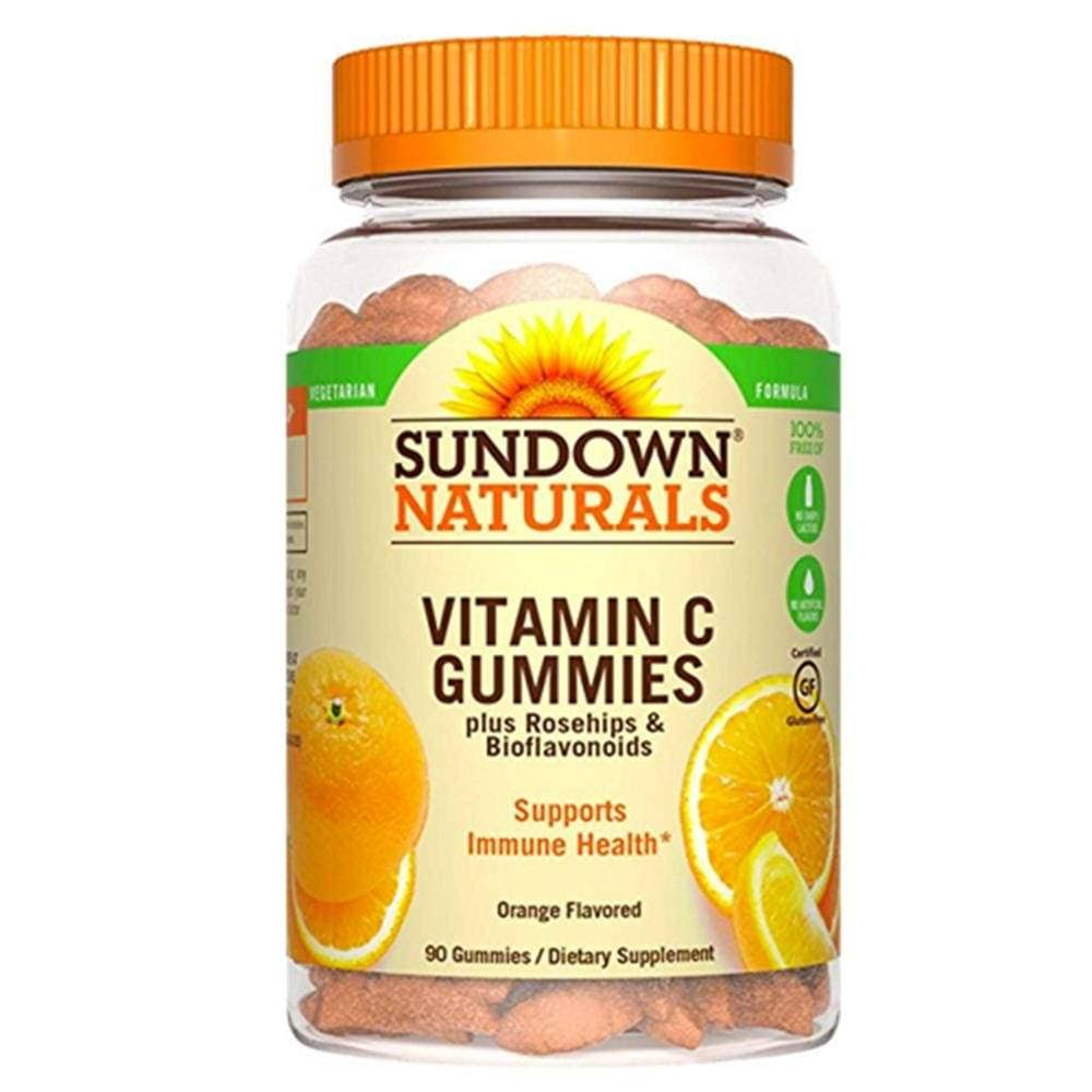 Sundown Naturals Vitamin C Supplement - 90 Gummies
