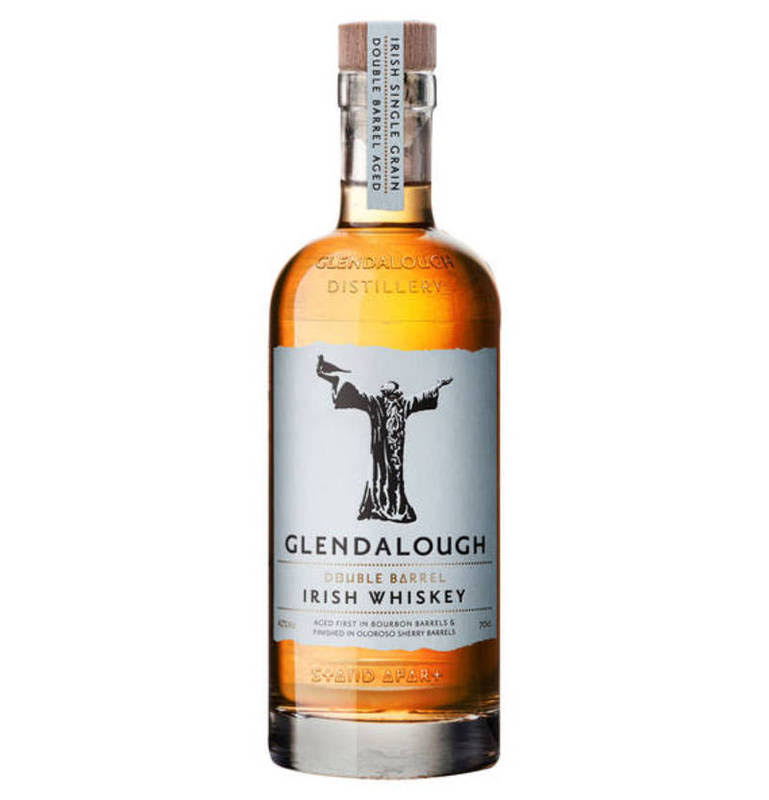 Glendalough Double Barrel Irish Grain Whiskey