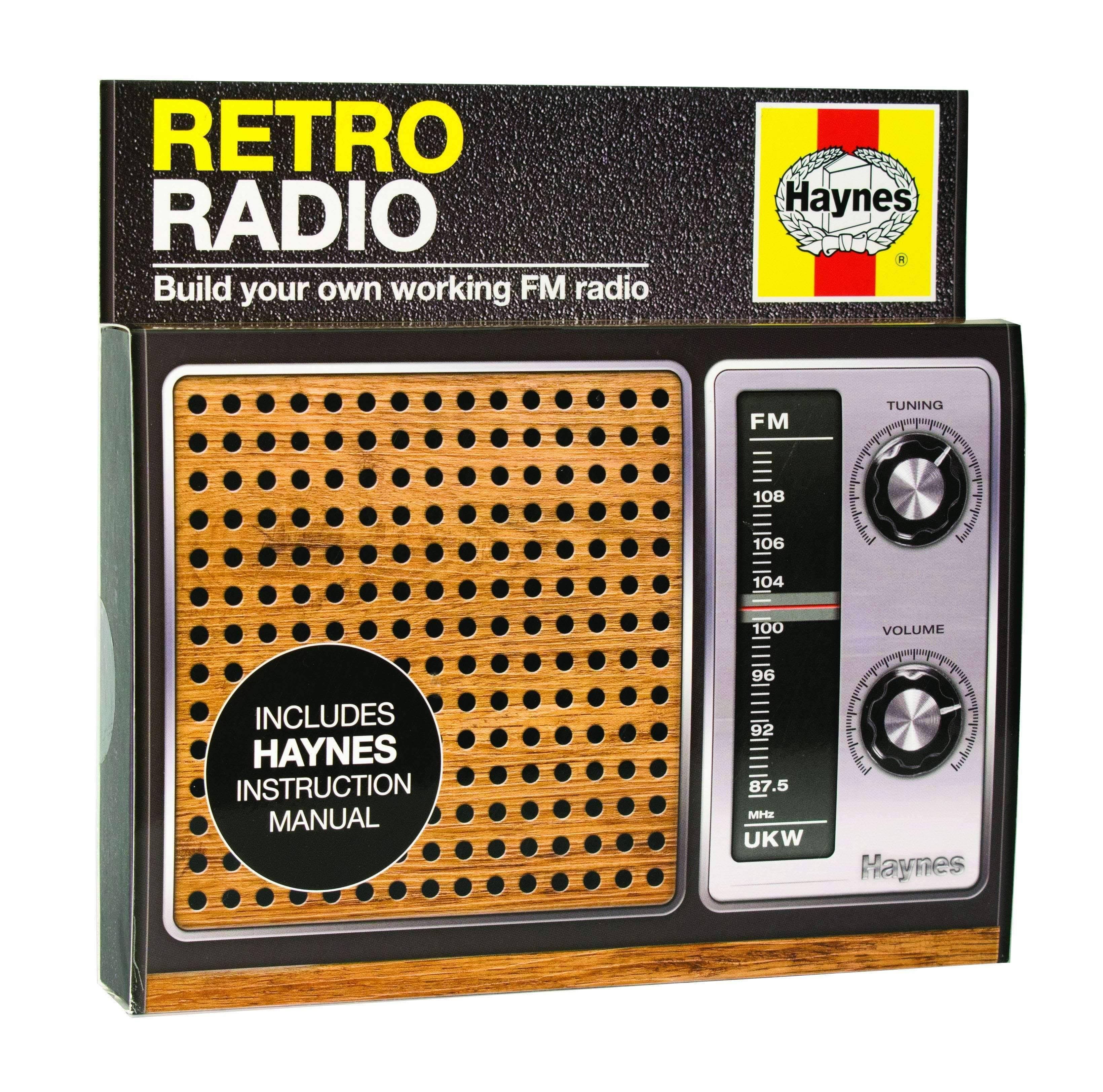 Haynes Build Your Own Retro Radio Model Kit