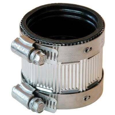 Fernco No Hub Coupling - Stainless Steel, 3""